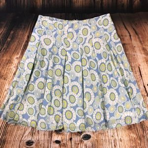 French Connection Floral Pleated Skirt